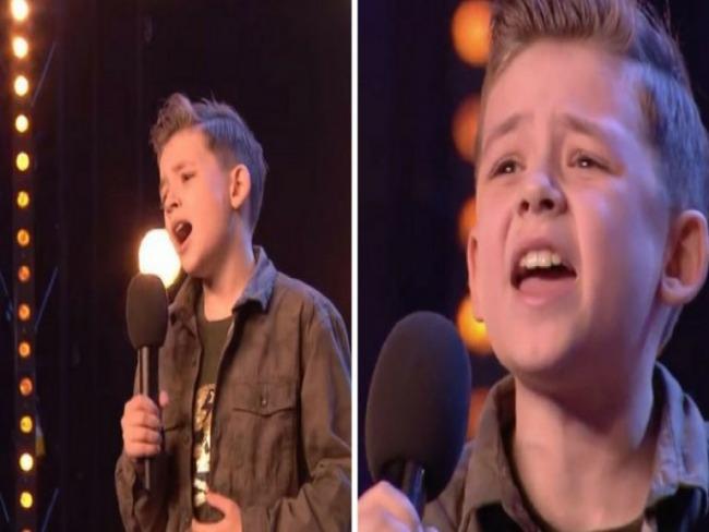 Menino autista emociona jurados ao cantar música de Jackson 5 em show de talentos