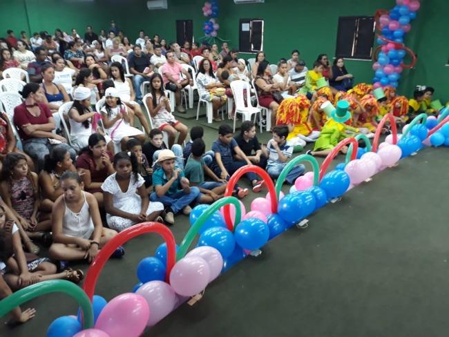 Escola de Tempo Integral Darcy Ribeiro realiza projeto cultural