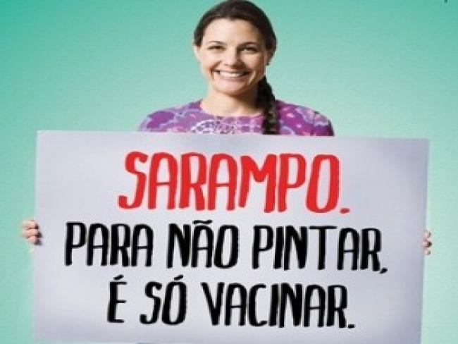 Ministério da Saúde lança campanha contra pólio e sarampo