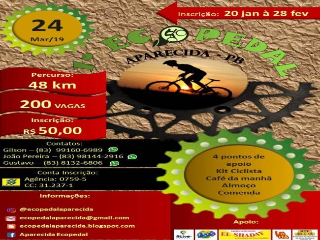Cidade de Aparecida realiza em março o 1º Eco Pedal e vai reunir mais de 200 ciclistas