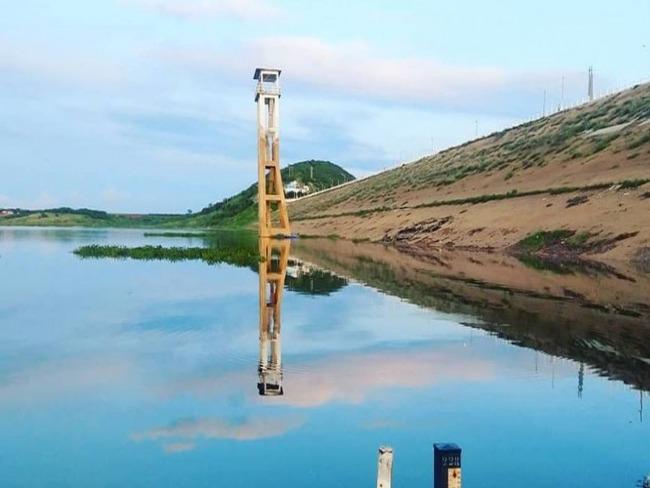 Açude de Coremas pega 96 centímetros d'água de ontem para hoje