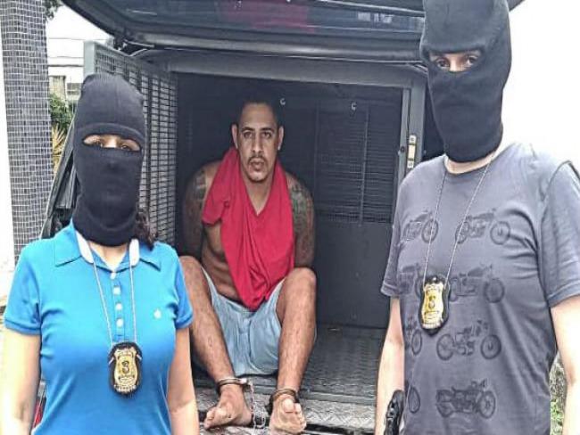 Criminoso mais procurado de PE, líder da Gangue do Buchudo é preso