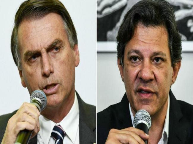 Haddad cresce e se isola em 2º lugar; Bolsonaro segue liderando, diz Ibope