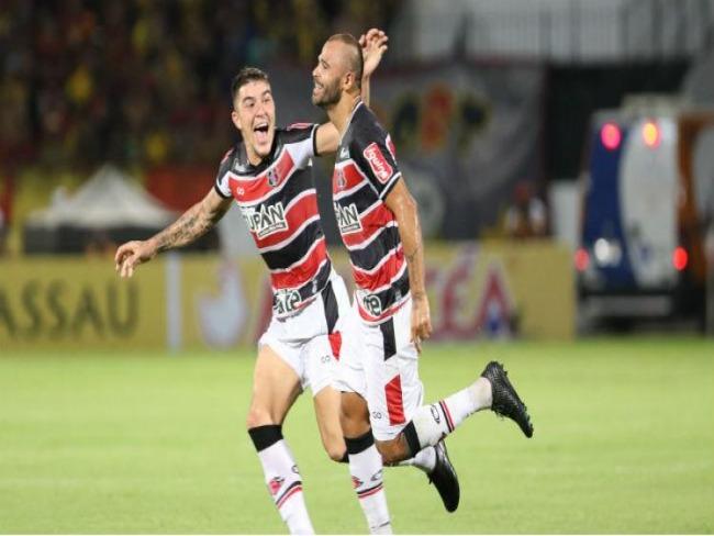 Santa Cruz vence clássico contra Sport na estreia em 2019 no Arruda