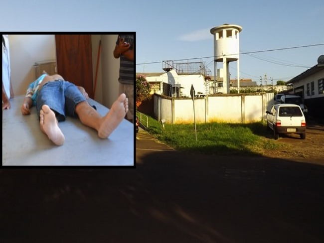 Preso se enforca com lençol na cadeia de Goioerê.