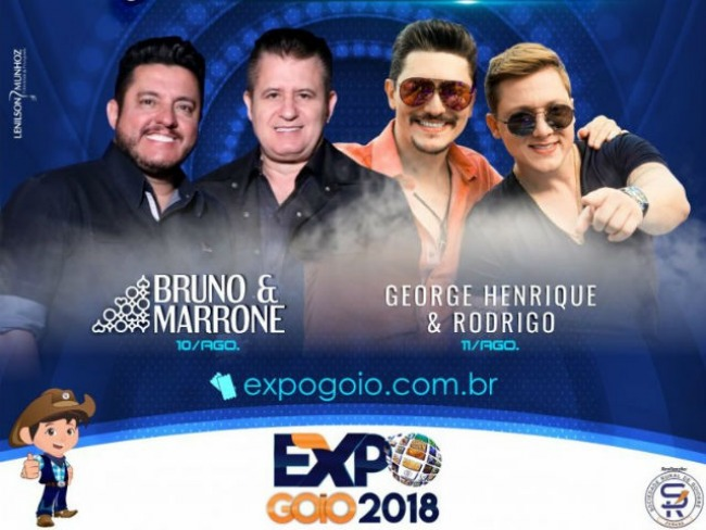 Expo Goio 2018: A procura por  ingressos para os shows é bastante intensa