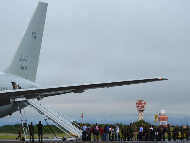 Venezuelanos chegam no Paraná com destino a Goioerê