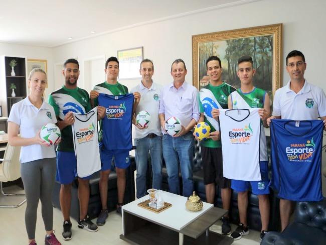 Pedro Coelho anuncia a implantação do projeto Esporte Para Toda Vida em Goioerê