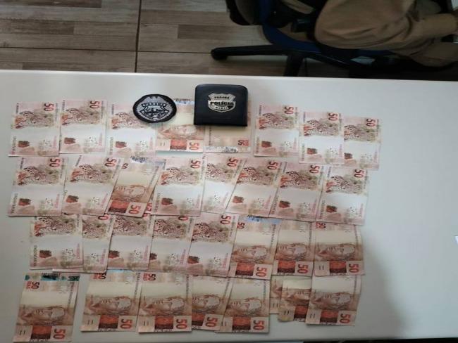 Operação Aurora em Goioerê resulta na prisão de três pessoas e apreende quase três mil em notas falsas