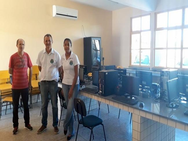 Escola Ladislau Schicorski contará com moderno laboratório de informática