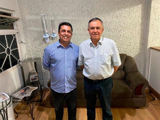 ELEIÇÕES 2020: Betinho Lima e Dr Adilson Corpa confirmam dobradinha em pré candidatura para prefeitura de Goioerê