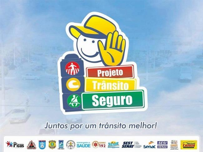 Projeto Trânsito Seguro realiza ações de conscientização em escolas municipais de Picos