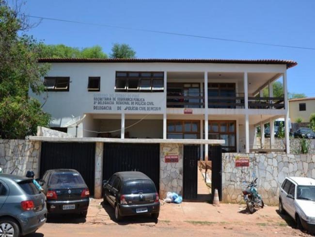 Homem é preso acusado de furtar prédio da Central de Flagrantes de Picos