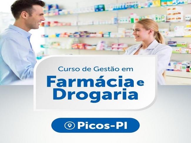 Curso de Gestão em Farmácia e Drogaria é ofertado gratuitamente em Picos
