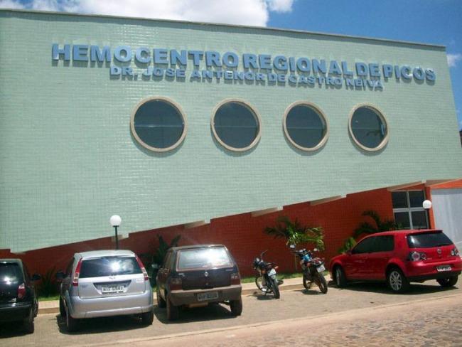 Hemocentro de Picos realiza campanha de doação de sangue pré-carnaval nesta terça (19)