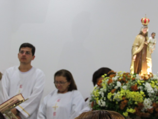 COMUNIDADE SÃO SEBASTIÃO EM PIANCÓ, ENCERRA A FESTA DE NOSSA SENHORA DO CARMO