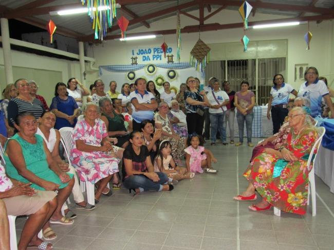 Pastoral da Pessoa Idosa em Piancó promoveu o I João Pedro com Idosos