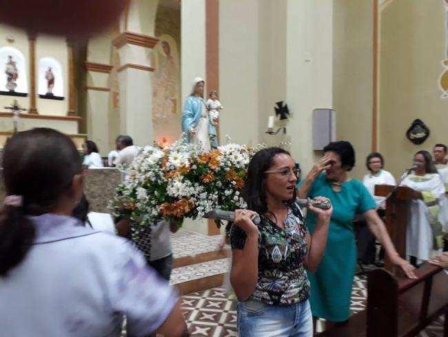 ENVIO DAS IMAGENS PEREGRINAS DE NOSSA SENHORA DO ROSÁRIO AS COMUNIDADES RURAIS