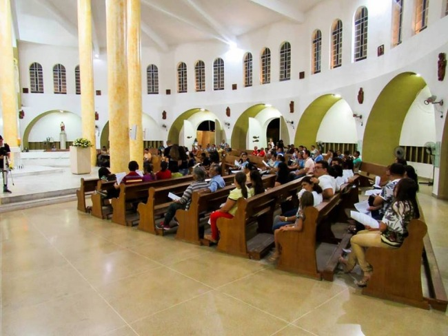 Piancó realizou com êxito, Retiro Missionário  Paroquial