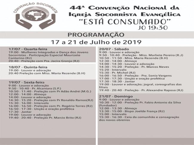 44ª Convenção Socorrista Nacional