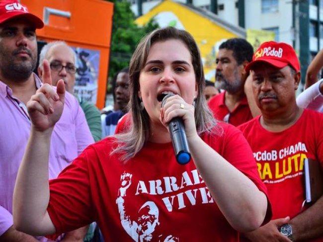 Executiva Nacional do PT decide descartar candidatura de Marília Arraes ao Governo de Pernambuco