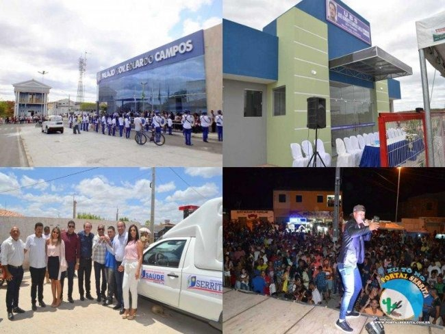 Serrita comemorou 90 Anos com a Entrega de Ações do Prefeito Erivaldo Oliveira Para a População.