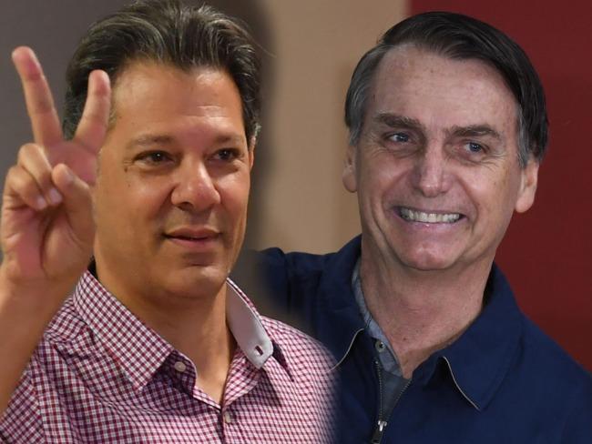 Eleições 2018: Bolsonaro e Haddad se enfrentarão no segundo turno