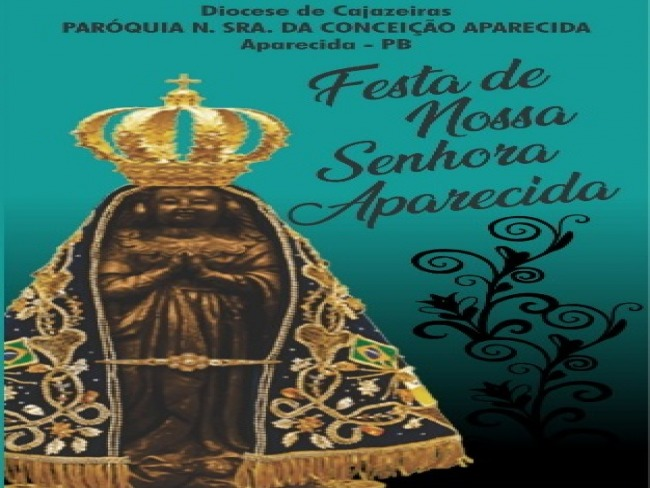 Paróquia de Nossa Senhora da Conceição Aparecida divulga a programação da Festa da Padroeira  2019.