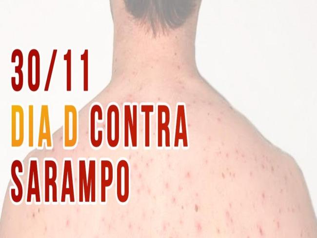Saúde inicia Campanha de Vacinação Contra o Sarampo para adultos