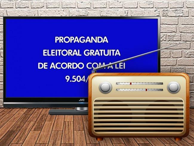 Propaganda eleitoral no rádio e na TV começa em 9 de outubro