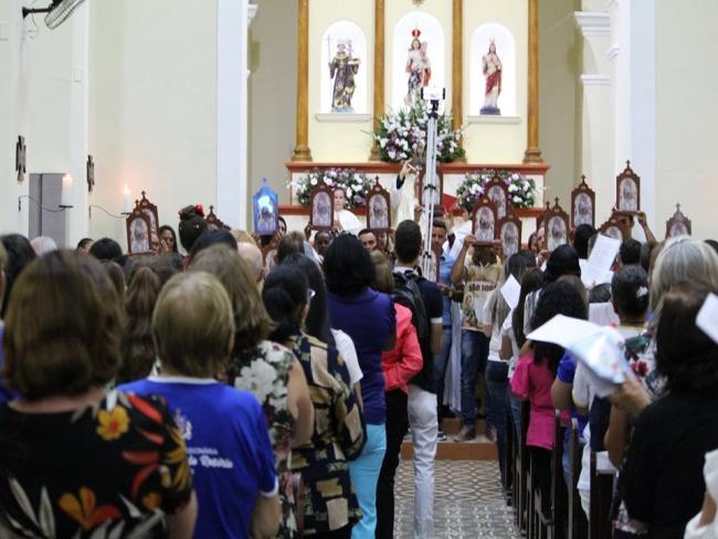 ABERTURA DA FESTA DE NOSSA SENHORA DO ROSÁRIO EM PIANCÓ