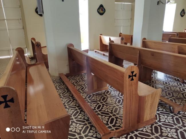 Igreja Bicentenária de Piancó ganha nova arquibancada