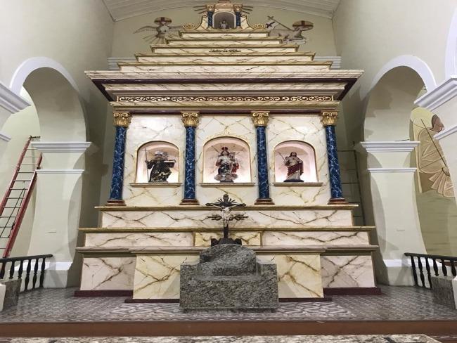 Restaurado o Altar Mor da Igreja do Rosário em Piancó