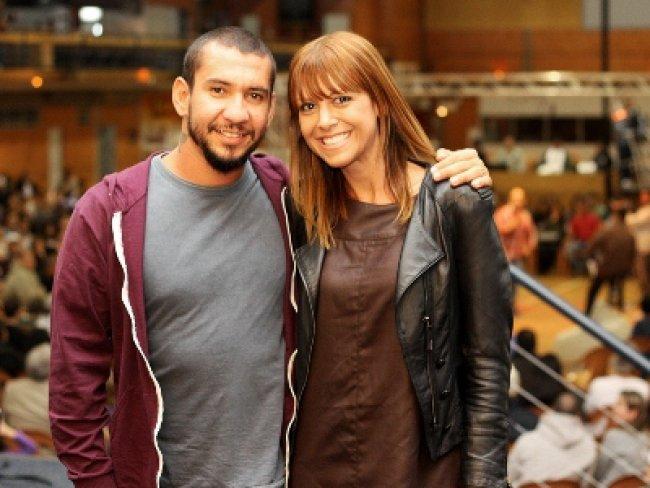 Alexandra Abrantes esposa do ex vocalista da Banda Raimundos; Eu te amo Jesus