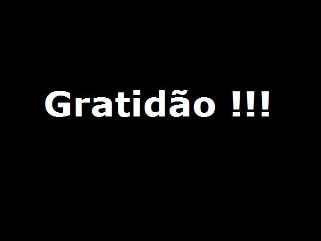 Gratidão!!!