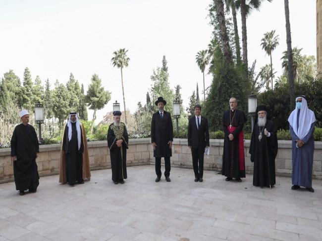 Lideres judeus, cristãos e islamicos